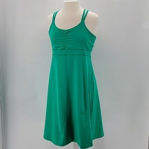 Marmot Spring Green Taryn Halter Dress Sz L